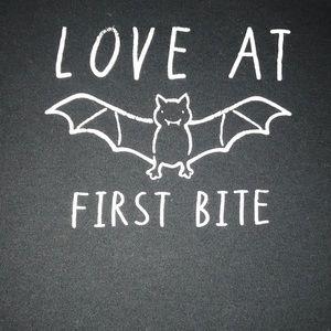 Carter's One Pieces - Carter's Halloween onsie bat 18 months love bite
